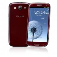 Samsung Galaxy S3 in Garnet Red