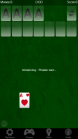 Solitaire - Initialising new game