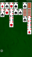 Solitaire - Notice the undo button