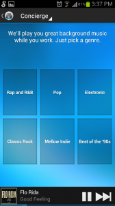 Songza Genres