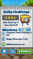 Subway Surfers - Daily challenges