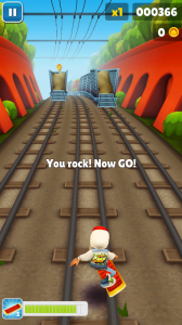 Subway Surfers - Hoverboard action