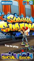 Subway Surfers - Menu