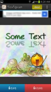 Textgram Creating Message 5