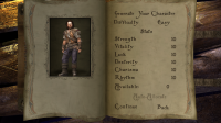 The Bard's Tale - Customise your characters attributes