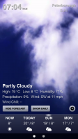 Weather HD - Sample screen 2