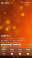 Weather HD - Sample screen 3