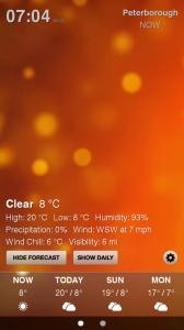 Weather HD - Sample screen 3