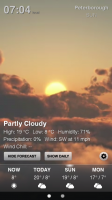 Weather HD - Sample screen 4