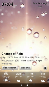 Weather HD - Sample screen 5