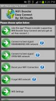 WiFi Easy Boost Menu