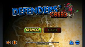 3 Kingdoms TD Defenders' Creed - Start menu