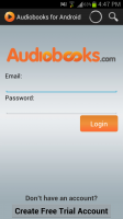 Audiobooks Login