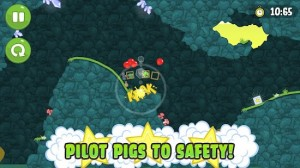 Bad Piggies Pilot Pigs to Safety