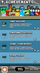 Bag it! - Achievements