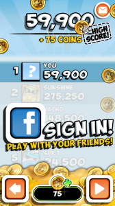 Bag it! - Play against Facebook friends