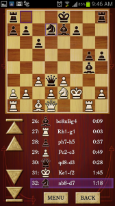 Chess Free Play History