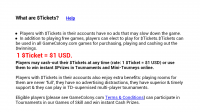 Dominoes GC Tickets Explained