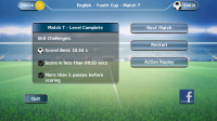 Fluid Football - Complete objectives