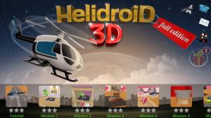 HelidroiD 3D - Level select