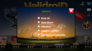 HelidroiD 3D - Options
