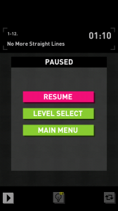 Huebrix - Paused menu