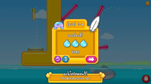 Jellyflop End of Level Scoring