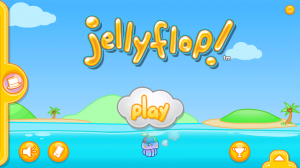 Jellyflop Start Screen