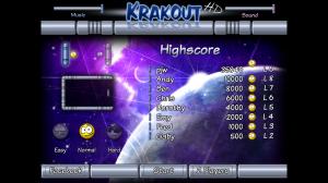 Krakout HD - Scoreboards
