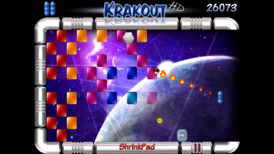 Krakout HD – addictive brick breaker arcade game