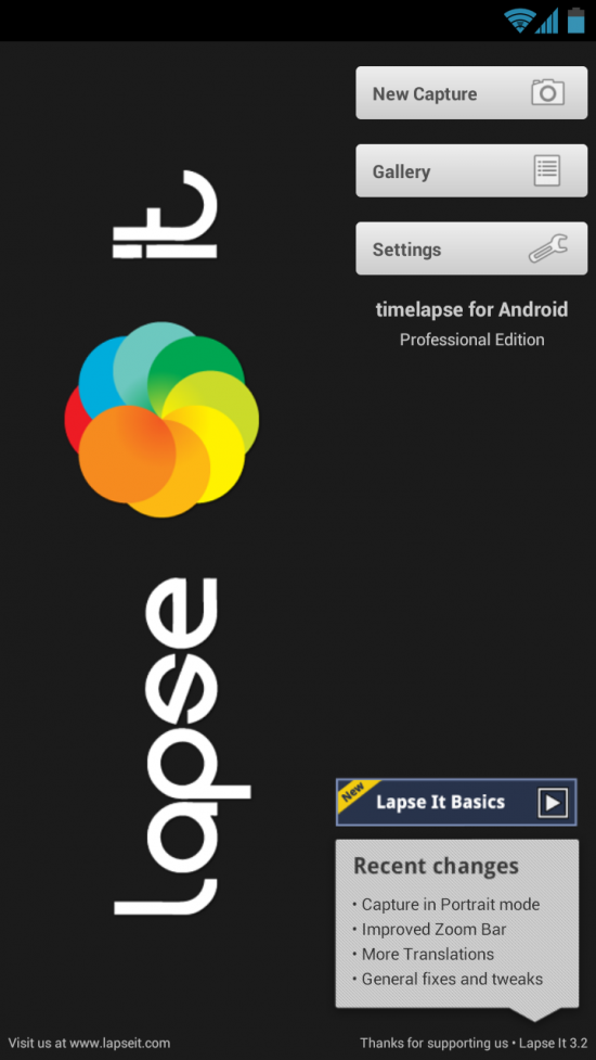 Lapse It – Time Lapse Pro. Create & edit stunning stop motion & time lapse photography on your Android!