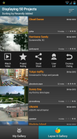 Lapse It Pro - Shared gallery projects