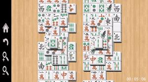 Mahjong - Gameplay view (1)