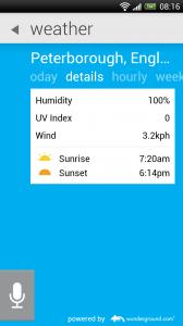 Maluuba - Weather