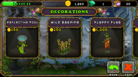 My Singing Monsters - Buy decorations which can make the monsters more productive