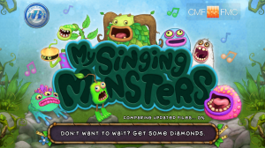 My Singing Monsters - Loading menu