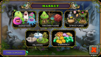 My Singing Monsters - Market