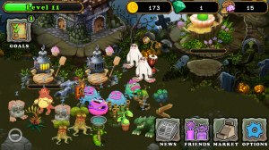 My Singing Monsters - Mute monsters and they go to sleep
