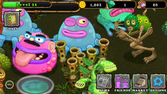 My Singing Monsters – unique & totally addictive game to create, breed, grow harmonious monsters with a passion for singing!