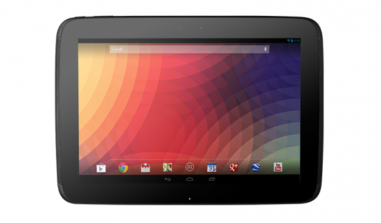 Nexus 10 – Google's Flagship Tablet with Android 4.2 Jelly Bean