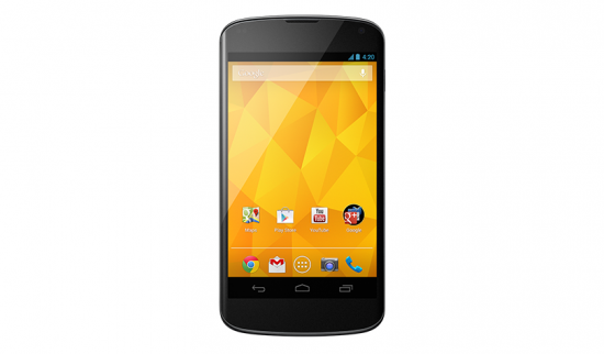 Nexus 4 – Google's Flagship Phone with Android 4.2 Jelly Bean