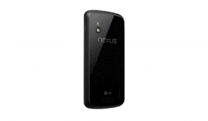 Nexus 4 Back Angle View