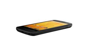 Nexus 4 Flat Angle View