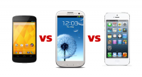 Nexus 4 vs Galaxy S3 vs iPhone 5: Specs