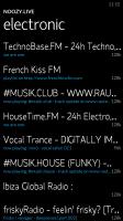 Noozy Studio 3 - Radio station search
