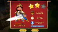 Royal Revolt! - End of mission results
