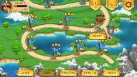 Royal Revolt! - Level progress and select