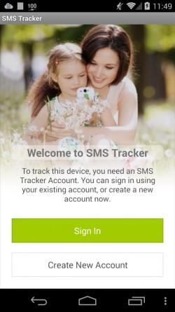 SMS Tracker - App Registration 1