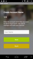 SMS Tracker - App Registration 2