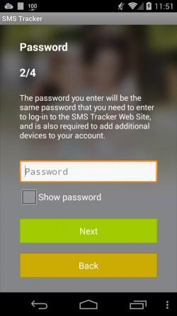 SMS Tracker - App Registration 3